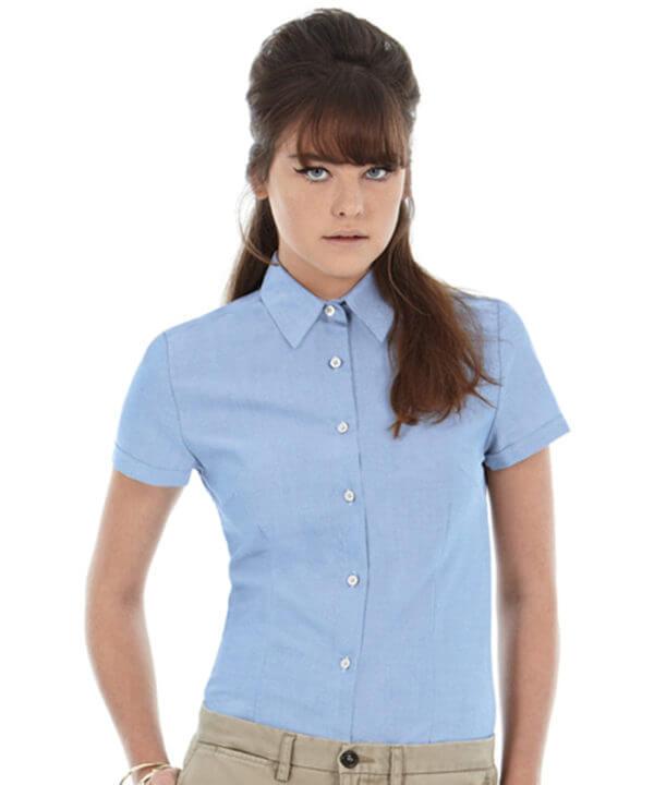 camicia-oxford-donna-m-c-BARETZ