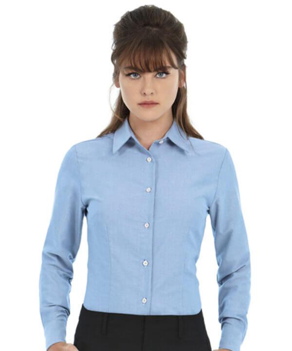 camicia-oxford-donna-m-l-BARETZ