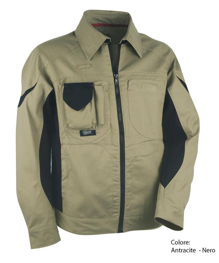 Giacca da lavoro workman design e funzionalit baretz - Normativa abbigliamento cucina ...