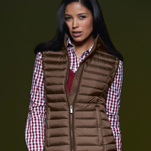 JACKET WOMEN'S QUILTED DOWN VEST-BARETZ-