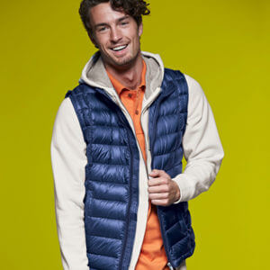 JACKET MEN'S QUILTED DOWN VES-BARETZ-