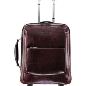 TROLLEY PIQUADRO BLUE-SQUARE