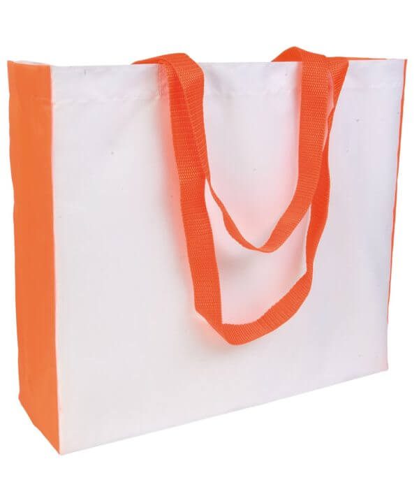 SHOPPER BIANCA IN POLIESTERE-BARETZ-