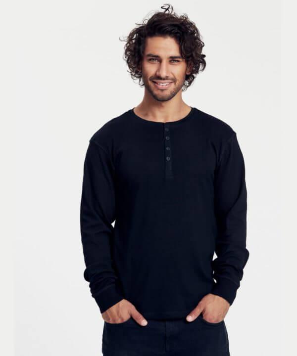 maglietta-mens-ls-grandad-t-shirt-BARETZ-