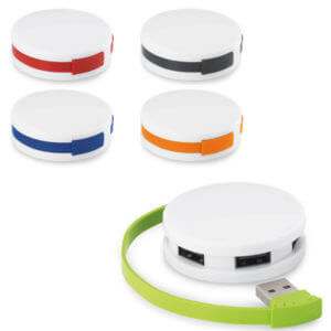 HUB USB 2.0 4 VPORTE-BARETZ-