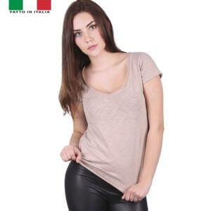maglietta-t-shirt-donna-scollo-a-v