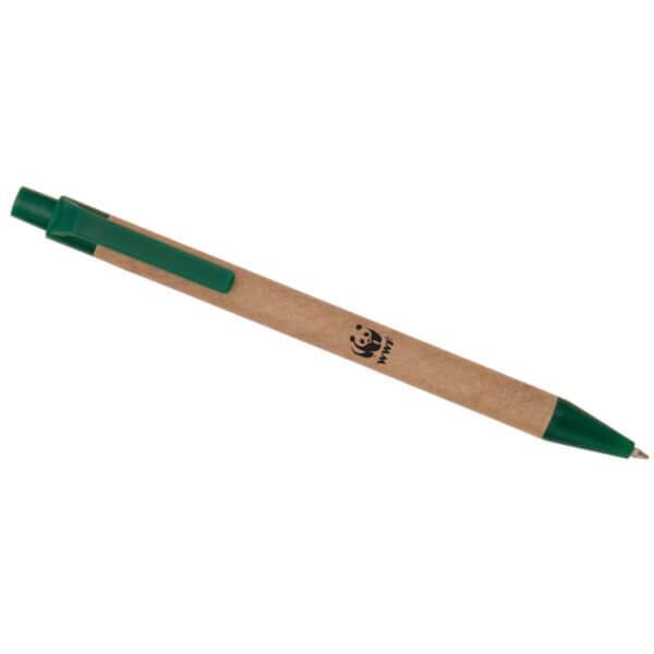 Penna in carta riciclata V WWF