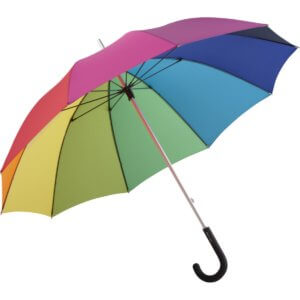 Midsize umbrella ALU light10 Colori-baretz-