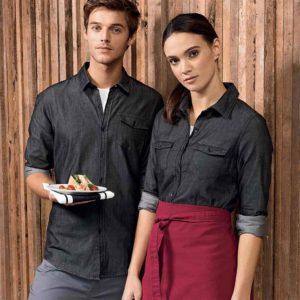 Camicia manica lunga con taschini