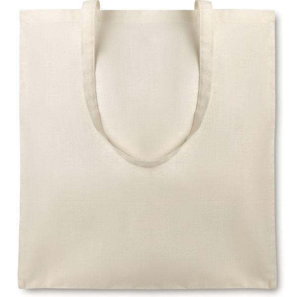 Shopper con manici lunghi cotone organico