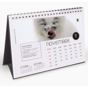 Calendario da tavolo WWF