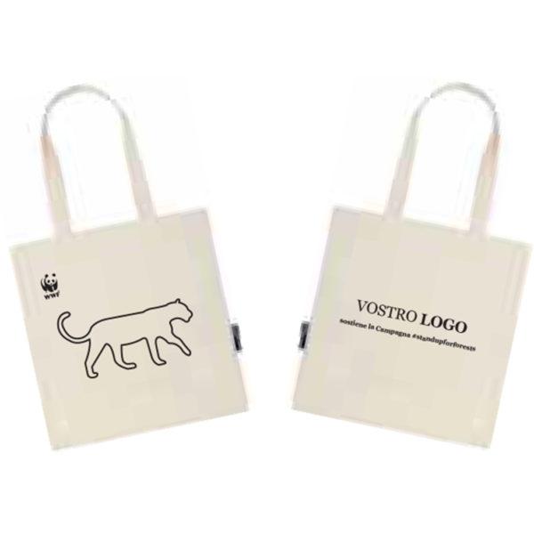 regali aziendali Wwf shopper