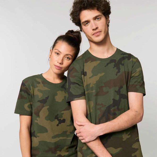 Maglietta t-shirt UNISEX CREATOR CAMOUFLAGE