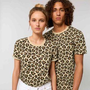 Maglietta t-shirt UNISEX LEOPARD
