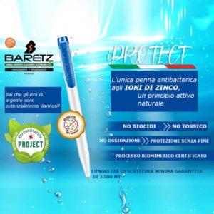 Penna agli ioni di zinco antibatterica